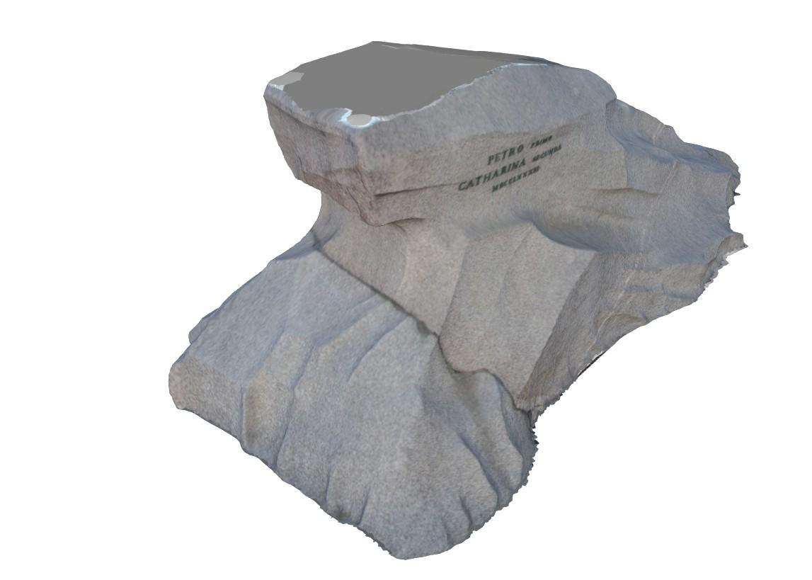 3D-модель Гром-камня