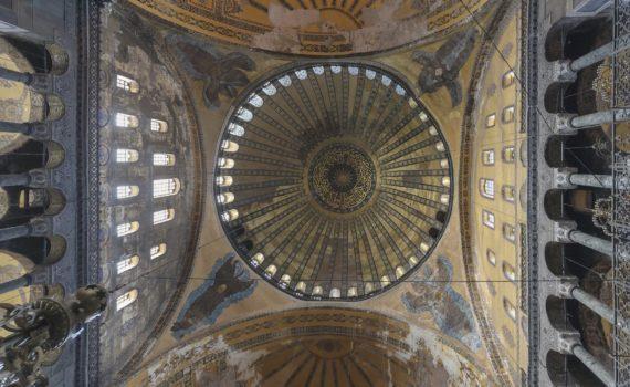 Начало применения купола на парусах