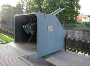 Артиллерийская установка линкора «Гангут»