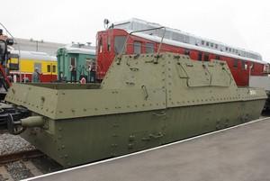 Железнодорожная бронеплатформа