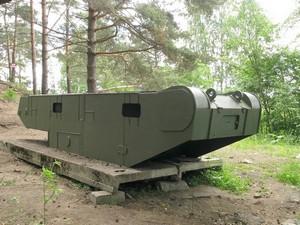 Огневая точка из корпуса танка «Т-28»