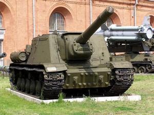 Артиллерия 1941–1945 годов в Артиллерийском музее