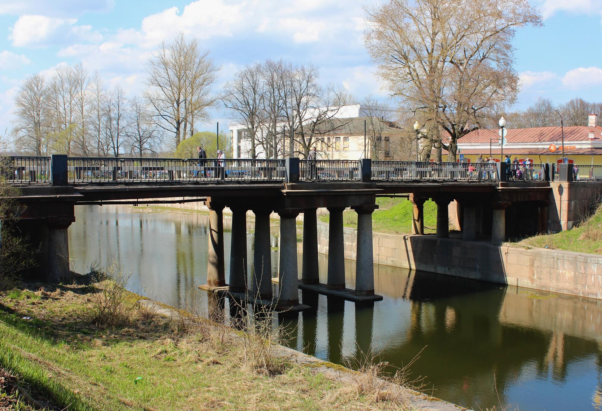 Петровский мост в Шлиссельбурге. Фото: Н.В.Лобанова.
