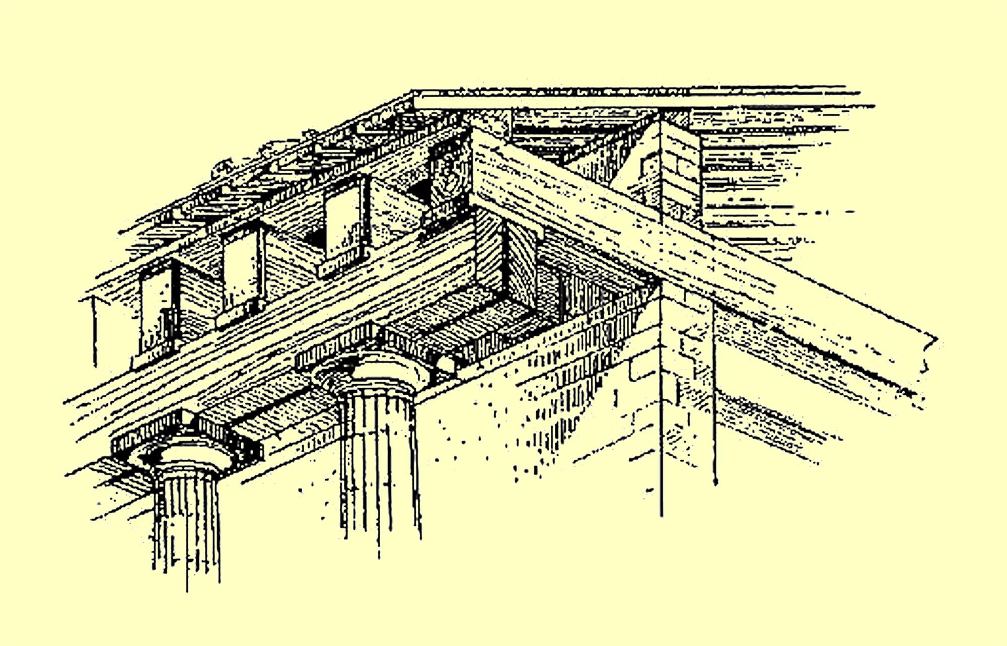 Складывание античного ордера
