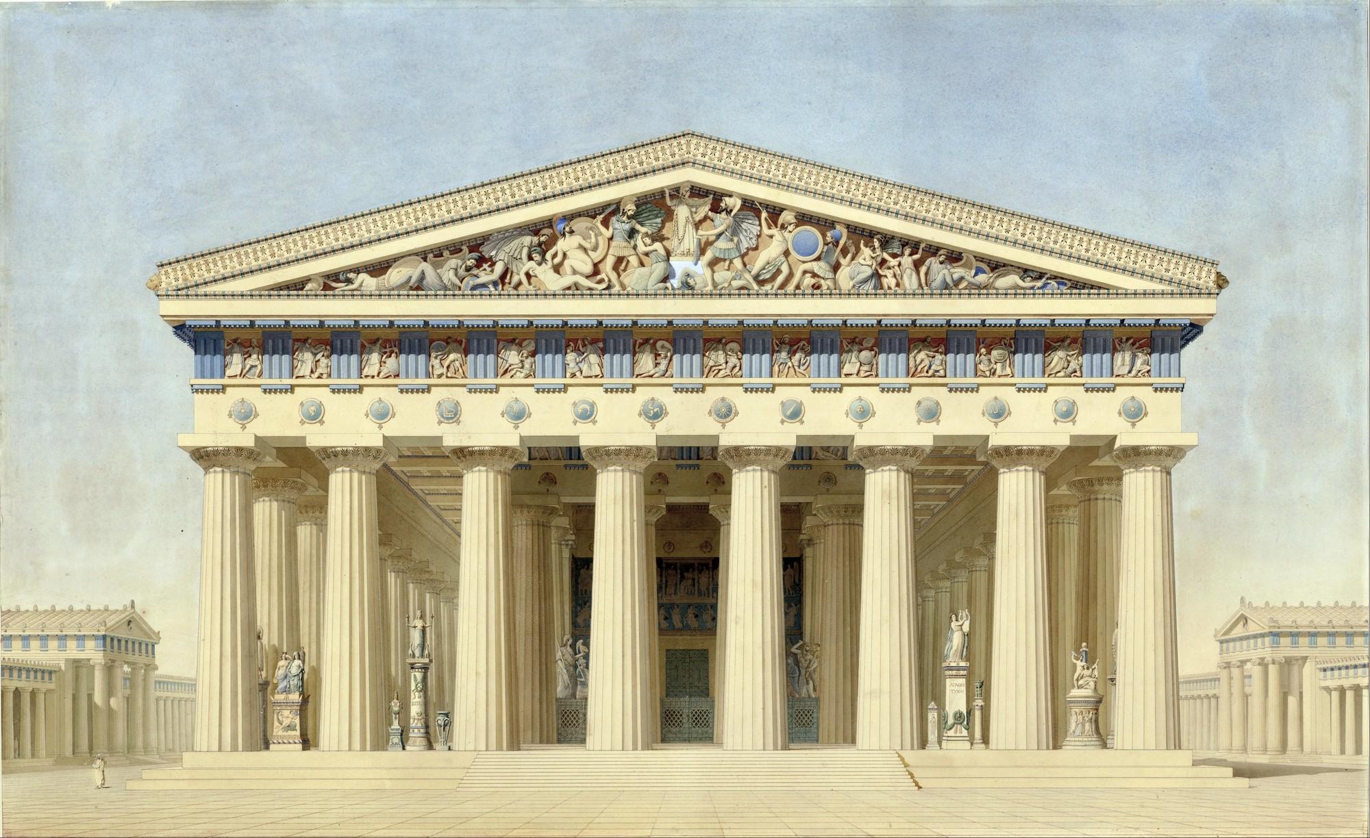 Каменные греческие храмы