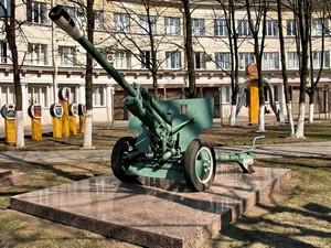 Пушка «ЗИС-3» на проспекте Металлистов