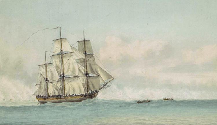 Индевор, корабль Кука
