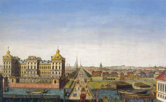 Аничков мост и Невский проспект