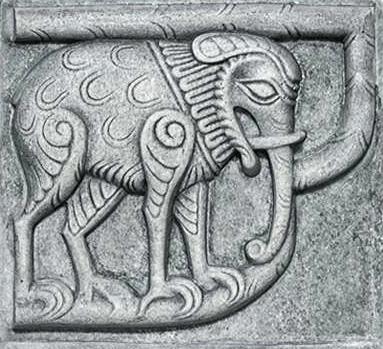Резной слон в Юрьеве-Польском